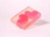 Darčekové mydlo so srdiečkami
