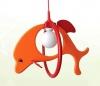 Svietidlo oranžový delfín