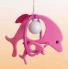 Svietidlo ružové delfíny